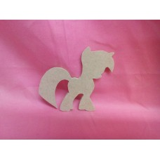 4mm MDF Fantasy pony design 3 pack of 3